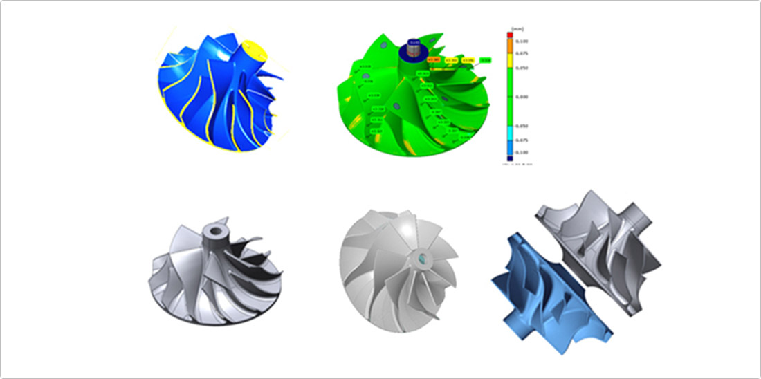 3-D Reverse Engineering and Data Analysis Simulation